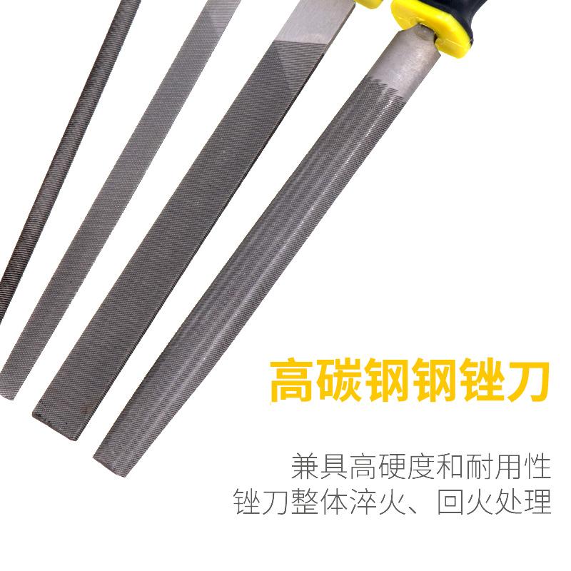 锉刀钢锉金属木工矬子打磨工具圆锉搓刀扁锉平锉半圆三角什锦钳工