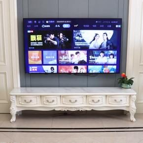 欧式大理石电视柜茶几组合桌现代简约客厅小户型实木电视机柜地柜