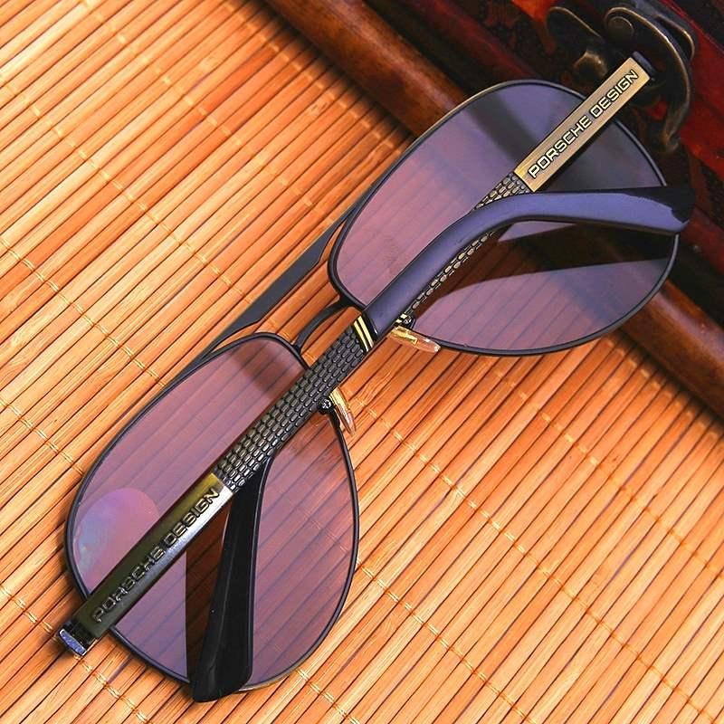高档天然水晶眼镜男 高档石头镜养目偏光太阳镜墨镜清凉飞行员眼