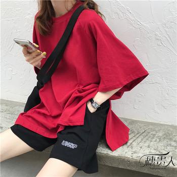 网红睡衣夏季短袖短裤两件套家居服