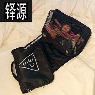 拯救乱星人 3CE大容量折叠洗漱包实用彩妆包多功能收纳包化妆包