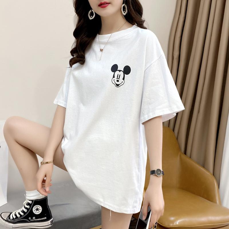 白色t恤女春装2020年夏季韩版短袖网卡超火上衣女内搭打底衫ins潮