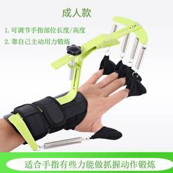 手指康复锻炼器家用脑梗偏瘫手指被动矫形器脑溢血患者手部练习。