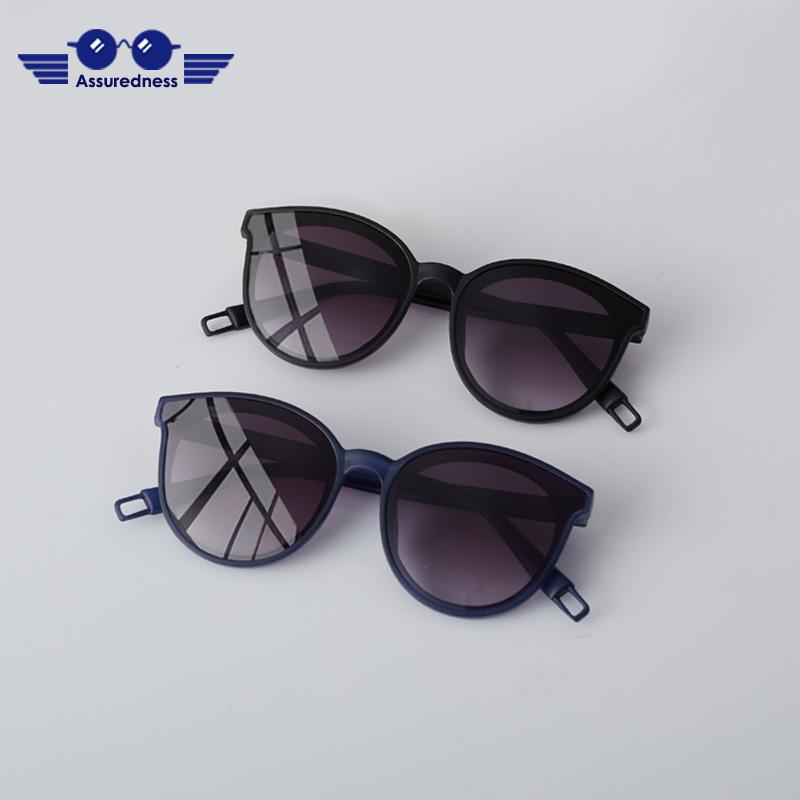 UV400 anti UV fashionable baby Sunglasses 2-year-old sun visors sun protection childrens Sunglasses cool trend