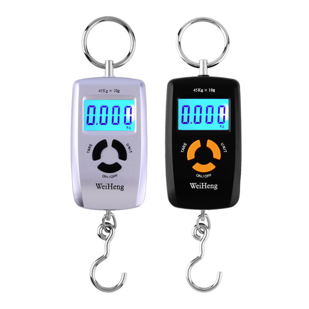 WH-A05L LCD Portable Digital Electronic Scale 10-45kg 10g fo