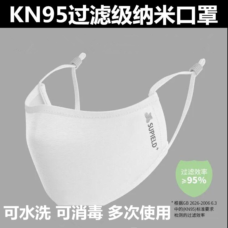 Kn95 anti dust adult disposable anti spray and anti haze water washing and multi use disinfection nano mask