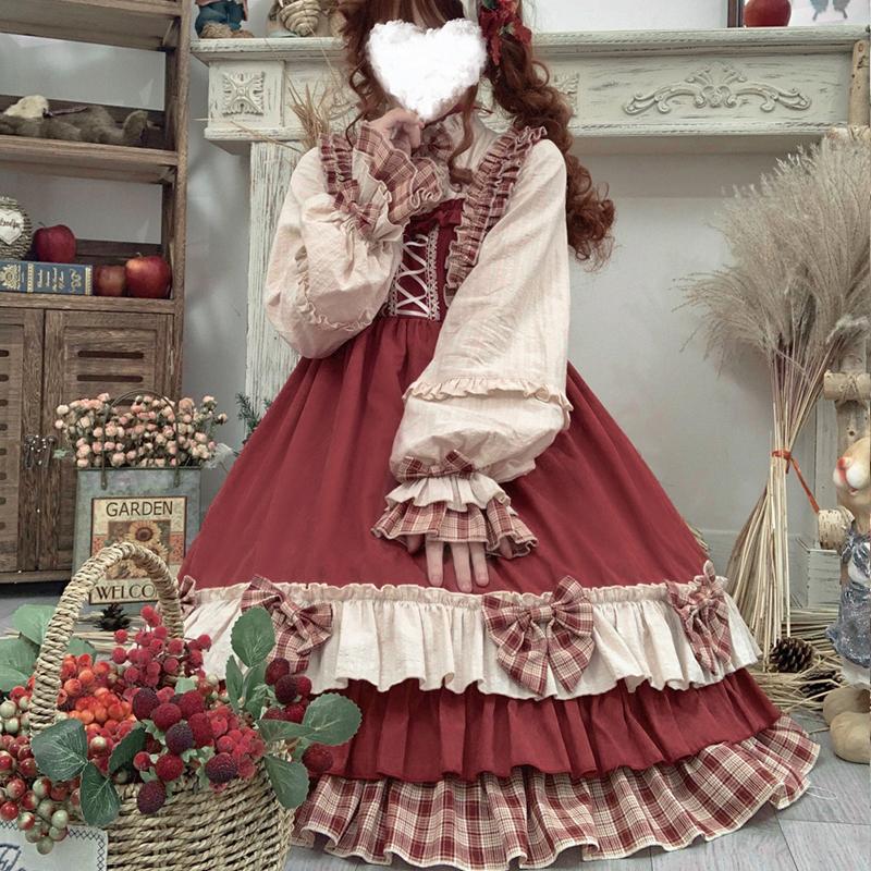 浆果少女op原创lolita裙中国风学生日常可爱日系外套洛丽塔公主