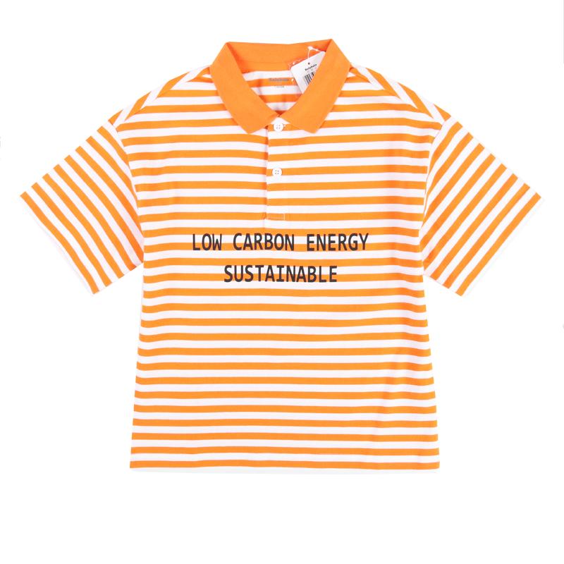 巴拉巴拉2020夏款童装男童纯棉条纹短袖T恤休闲polo衫22172201122