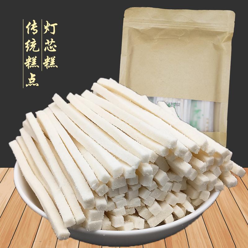 湖南五分pk拾特产清凉糕云片糕灯芯糕薄荷酥500g糯米糕传统糕点心甜点包邮