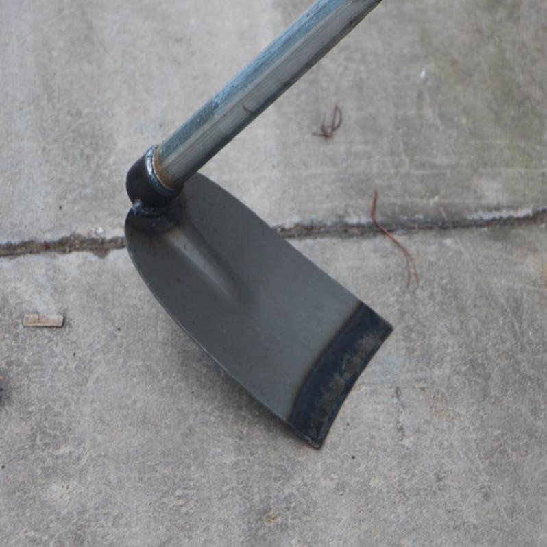 带柄钢铁柄大锄头种菜农用开垦锄头 除草锄园艺用品农具园林工具