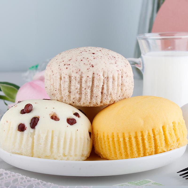 友尚蒸蛋糕奶香小面包整箱早餐速食懒人食品零食糕点手撕面包整箱
