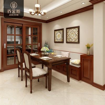预定金 乔金斯 定制餐边柜客餐厅卡座入户鞋柜现代美式全屋护墙板