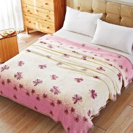 夏季儿童毛毯套装厚卡通单人毯子小午睡毯薄款婴儿空调毯盖腿外出