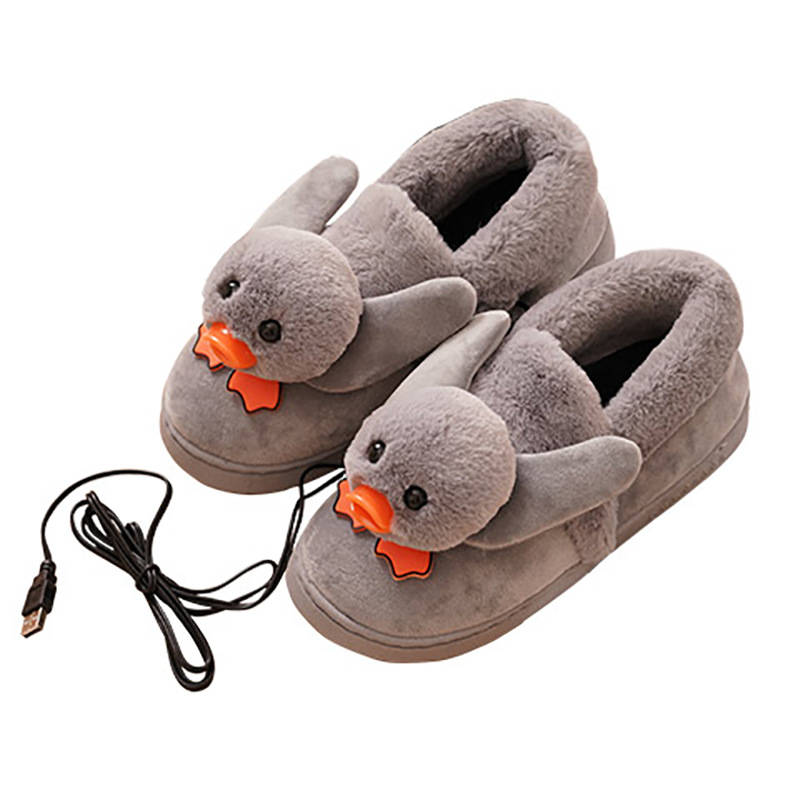 Heating slippers, electric heating shoes, electric heating shoes, charging women walking shoes, heating shoes, warm shoes