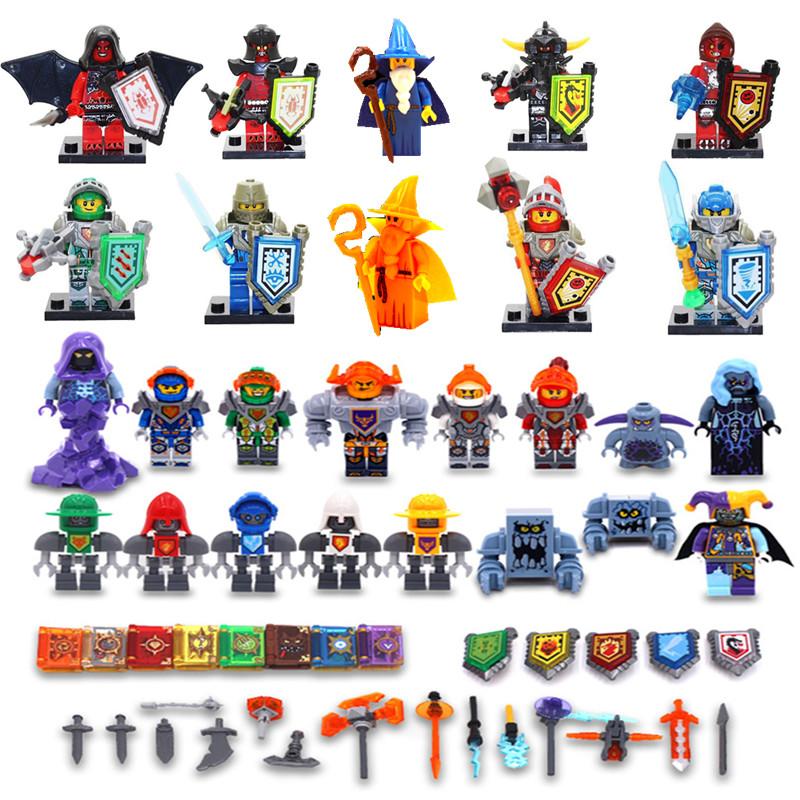 LEGO future Knights mecha kemeisire magician little doll phantom Ninja puzzle block toy