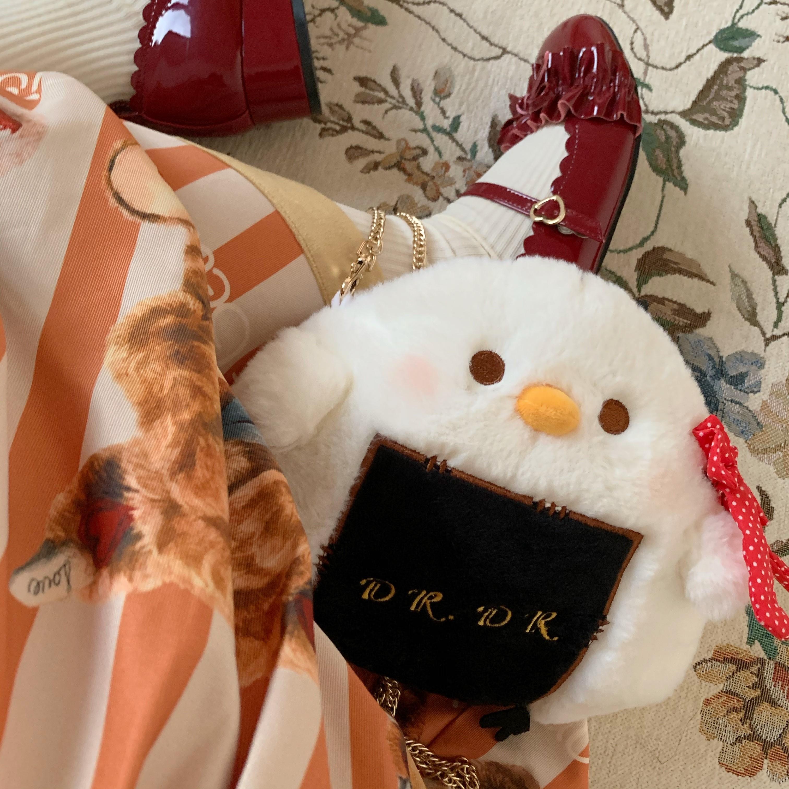 DRDRグーグー2020新型ファッションロリータjkオリジナル斜めショルダー可愛いぬいぐるみバッグ女性
