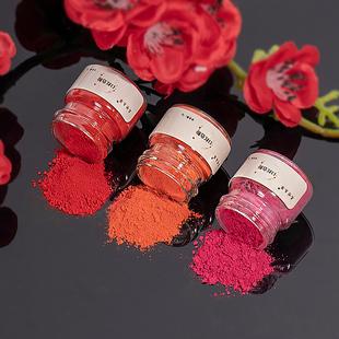 名世本草口红粉diy手工自制口红天然原料细腻免研磨制作口红色粉