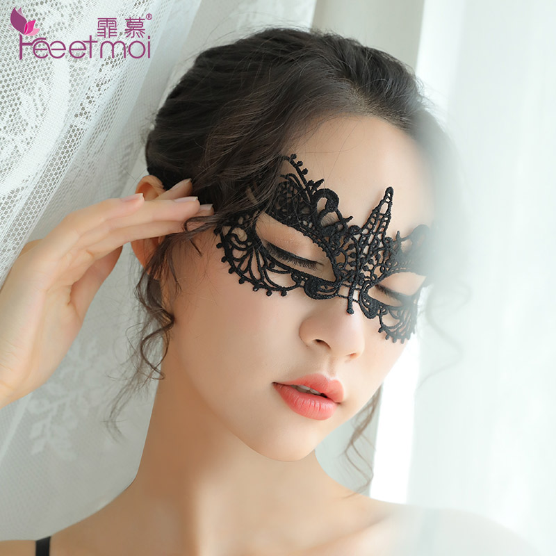 Passion lace eye mask nightclub queen mask sexy lingerie accessories cosplay