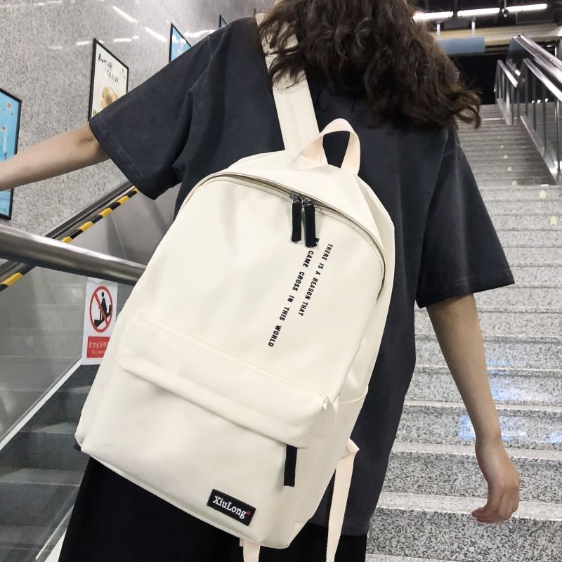Schoolbag female student Korean campus 2019 new backpack male junior high school students large capacity ins backpack female