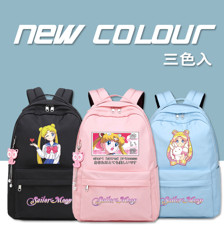 Soft girl college style, two shouldered girl, lovely campus, beautiful girl soldier Lolita Lolita schoolbag, few Japanese students