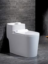 家用抽水马桶超漩虹吸式座便器卫浴洁具坐厕普通小户型防臭坐便器