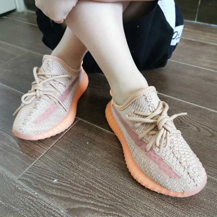 diao yeezy满天星椰子鞋真爆yeezy350V2童鞋限定亲子鞋莆田运动鞋