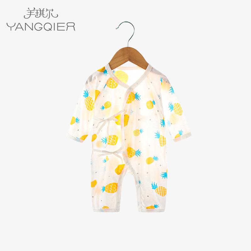 新生婴儿儿夏季纯棉满月服和尚服