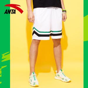 安踏短裤男2020新款夏季青少年五分裤篮球运动裤雪碧联名休闲裤子
