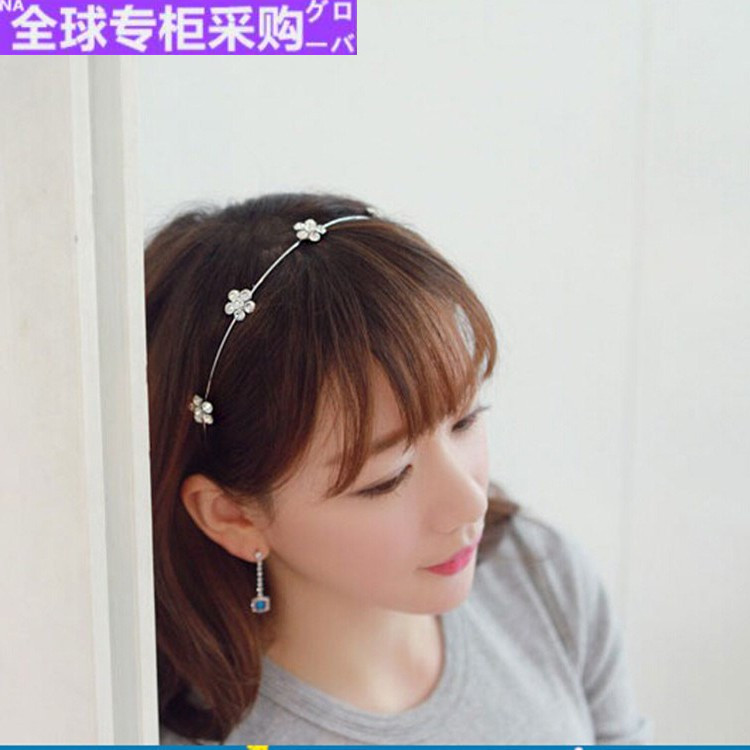 Japanese hunters same hairband, sweet, lovely and simple headdress, hairpin, Roys hair, Kans sewing water drill