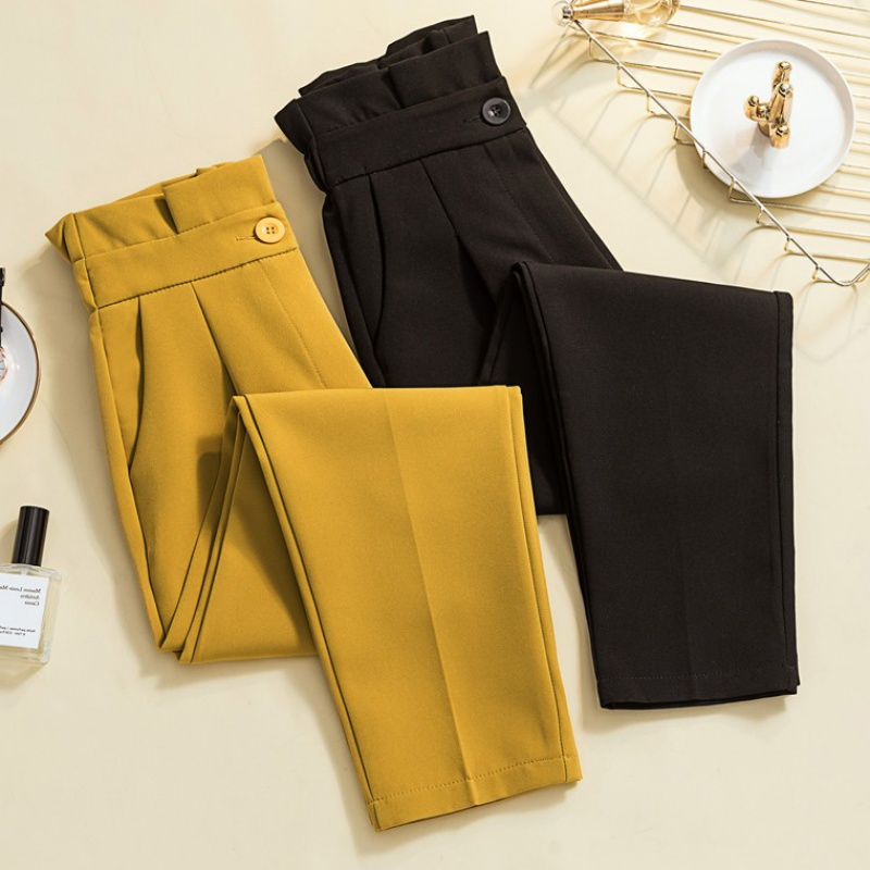 2020 large womens new casual trousers in spring and summer
