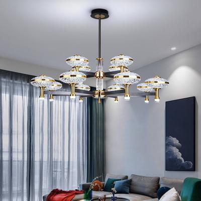 2021新款北欧轻奢客厅吊灯北欧极简客厅灯后现代简约大气餐厅吊灯