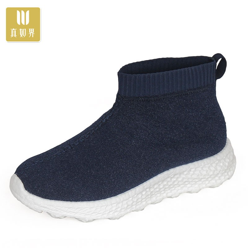 Monk shoes spring and autumn 2020 new pop a rice flower thick soled monk shoes mens sports Zen casual shoes~
