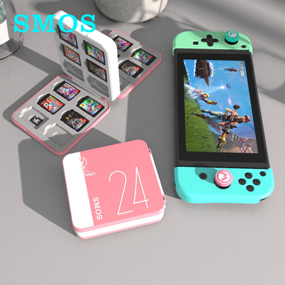 SMOS switch card box Nintendo oled cassette box ns game card storage bag magnetic large-capacity storage box 24 peripheral accessories