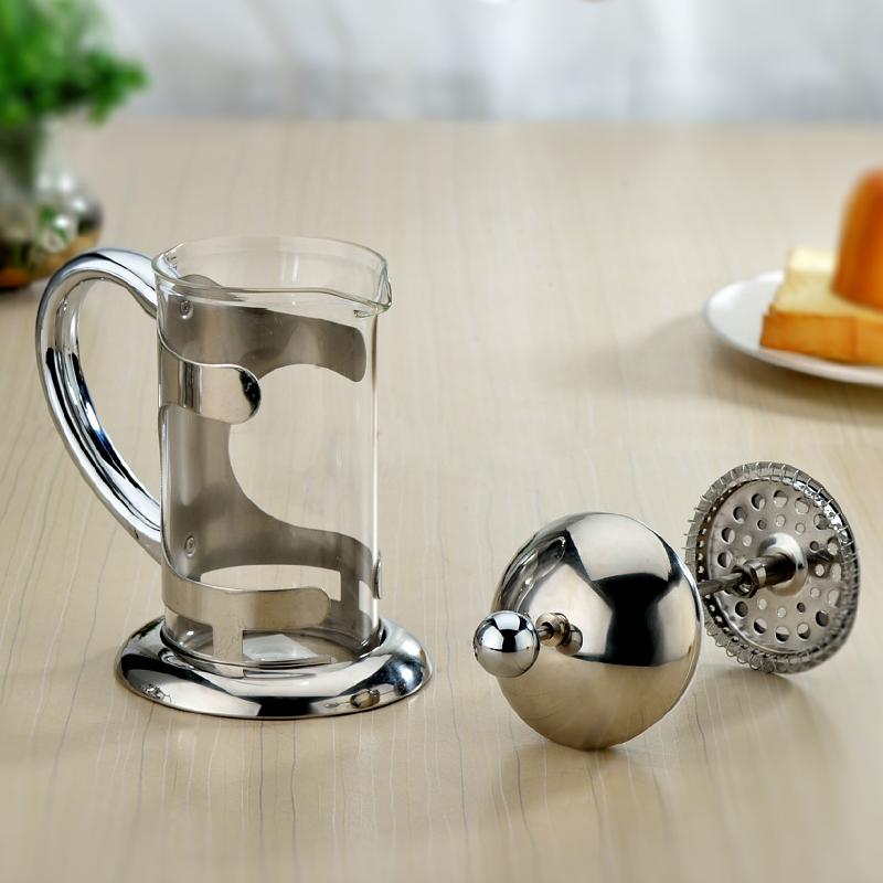 雅風 玻璃泡茶壺 不鏽鋼泡茶器衝茶器 茶具過濾茶壺濾壓茶壺 包郵