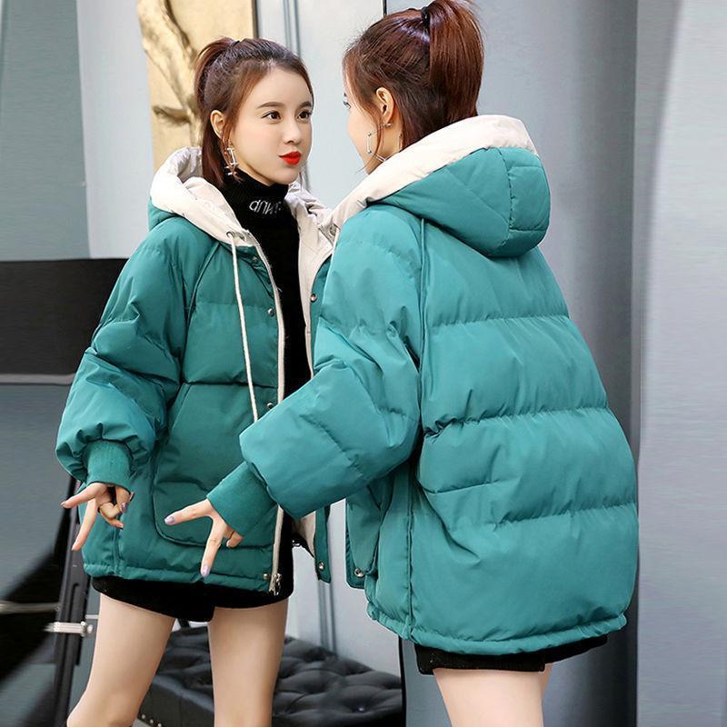 冬装新款韩版棉服女2020短款宽松学生面包服棉袄加厚棉衣外套