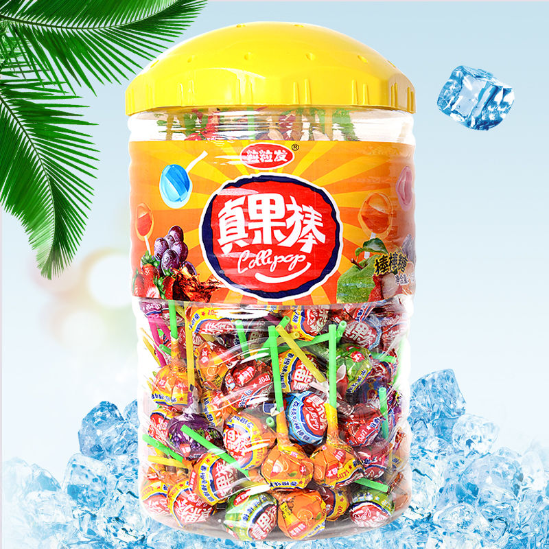 150支水果味混装桶装30支大礼包