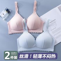 夏季薄款哺乳内衣孕妇产后喂奶文胸怀孕期舒适bra聚拢防下垂胸罩