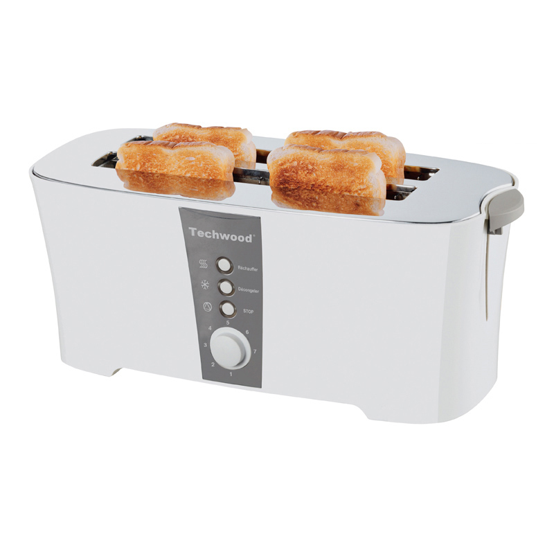 Slice bouncing toast 4 heating machine 4 Slice automatic 2018 bread baking double-sided new household trough oven steamed bun