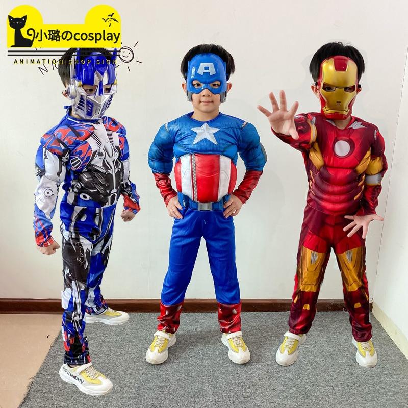 cosplay动漫服装儿童演出角色扮演六一表演o服装毒液蜘蛛侠紧身衣