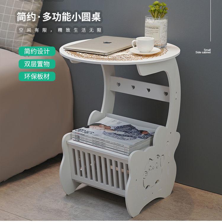简易床头柜置物架经济型床头收纳柜简约现代储物柜卧室床边小柜子