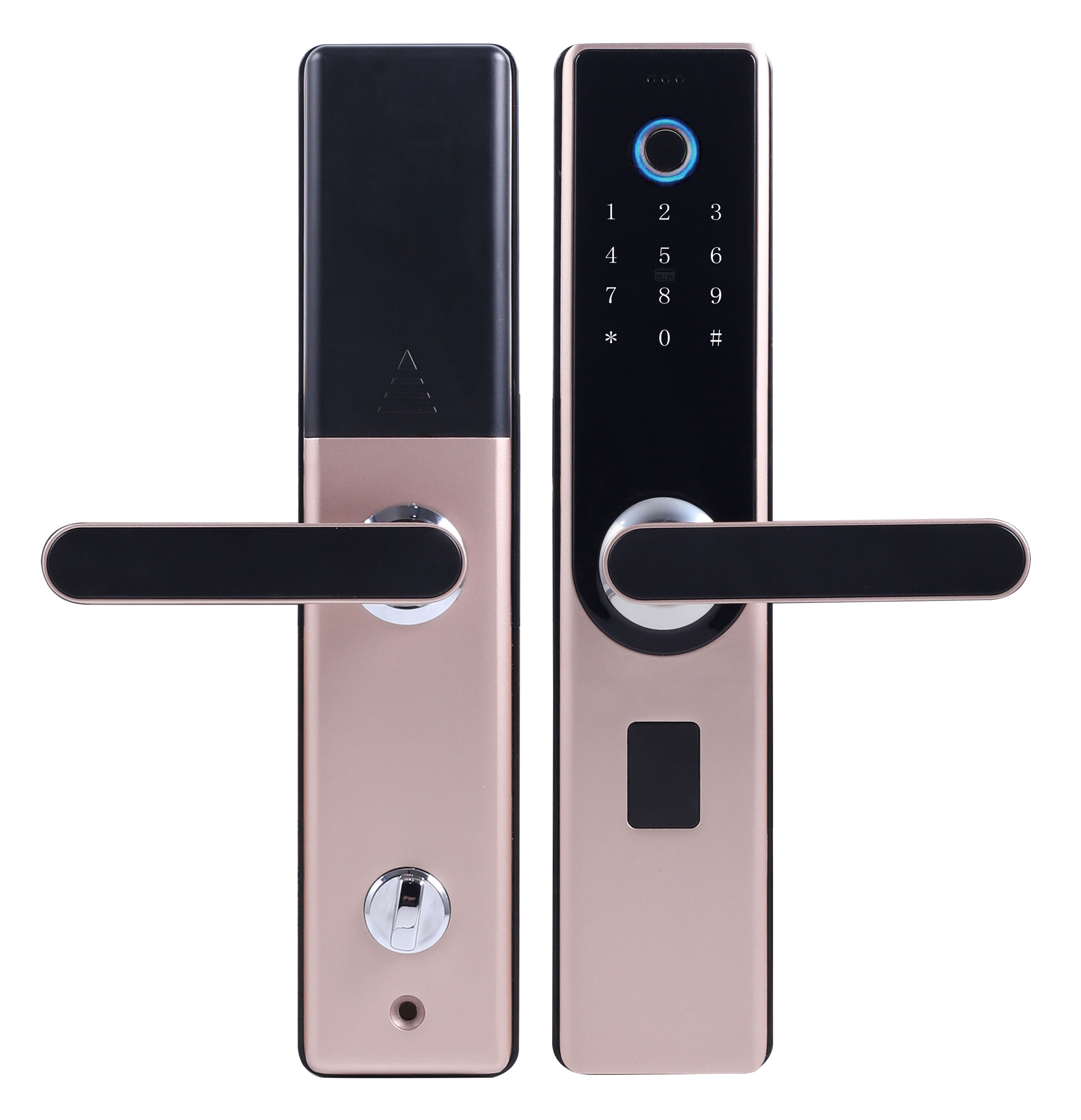BUAN intelligent lock household security door fingerprint lock wood door general electronic security lock super class C Hotel password lock