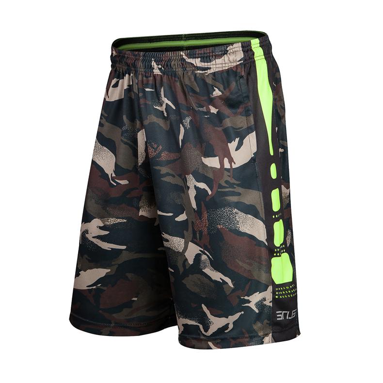 . Postal summer mens camouflage elite sports shorts training basketball pants fitness mens shorts Capris
