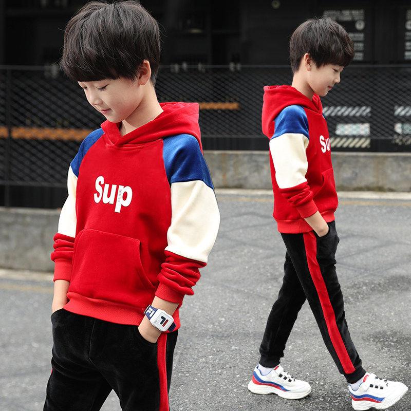 儿童卫衣男套装