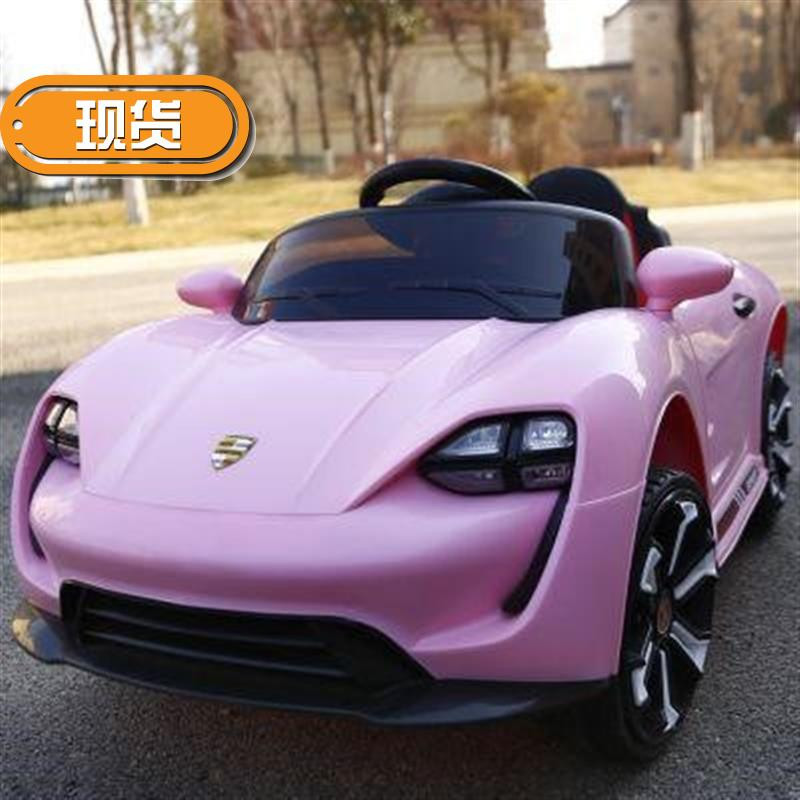 高档f马萨拉蒂儿童汽车婴儿童电动车四轮充电遥控汽车可坐人具车