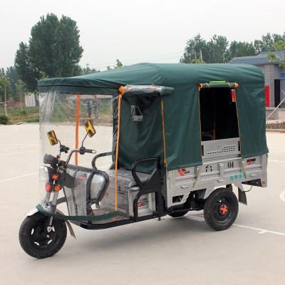 电动三轮车车棚遮阳棚挡雨棚方管折叠全封闭三轮车棚篷雨棚蓬