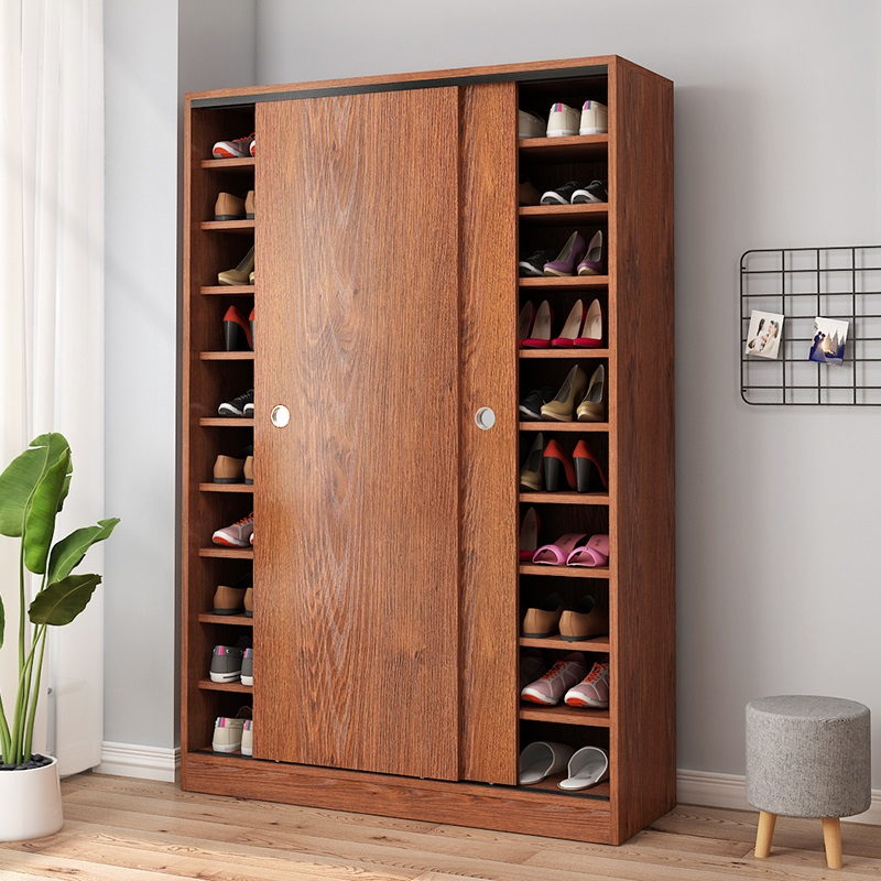 推拉门多层家用玄关柜门口阳台鞋柜质量如何