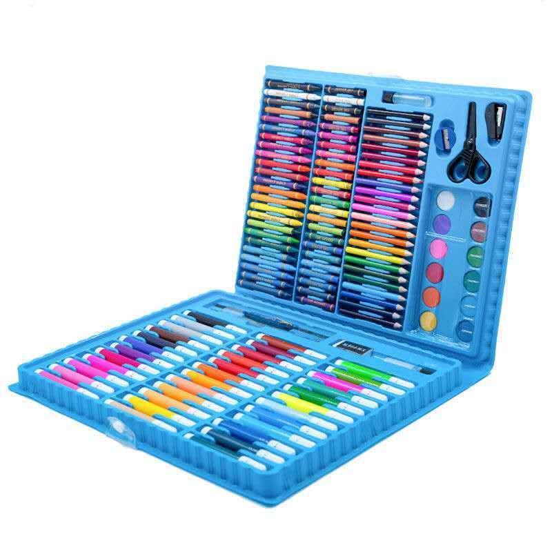 タオバオ仕入れ代行-ibuy99|美术用品|儿童水彩笔绘画套装送画本画笔蜡笔套装幼儿园小学生美术用品礼盒