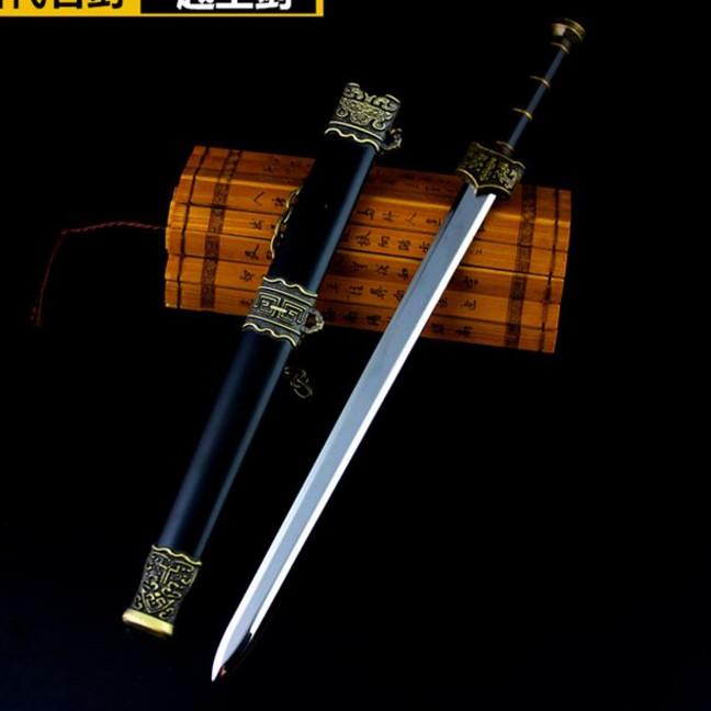重楼魔剑合金仙剑奇侠传三如意剑越王勾践剑景天模型钥匙扣带刀鞘