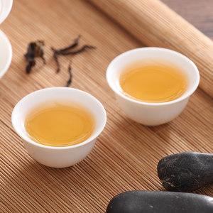 潮州陶瓷骨瓷简约家用纯白色小号盖碗茶杯茶壶三才碗功夫茶具