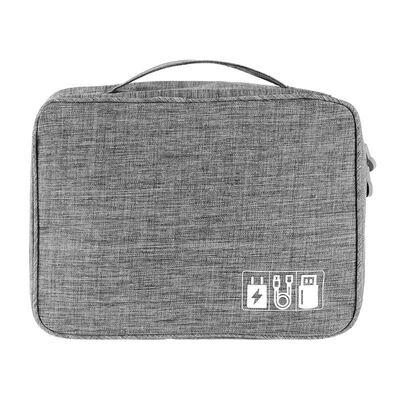 3c数码配件硬壳盒耳机收纳盒多功能包包便携袋大容量布袋电脑U。